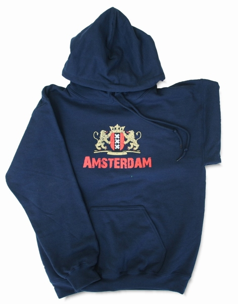 Hooded Sweater Wapen Amsterdam