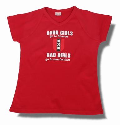 Dames Shirt Good Gilrs