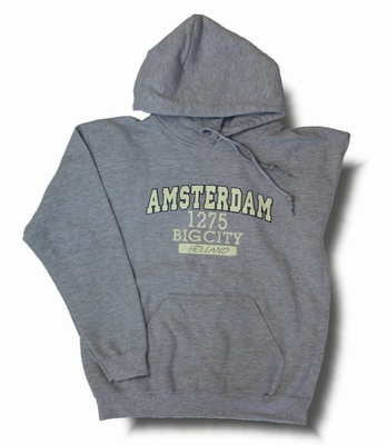 Hooded Sweater Amsterdam Big City