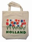 Canvas Draagtas Tulpen Holland