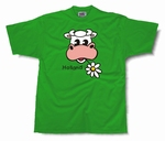 Regular T-Shirt Holland Koe