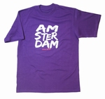 Regular T-Shirt Paint Purple